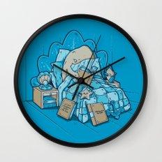 LATE NIGHT READINGS Wall Clock