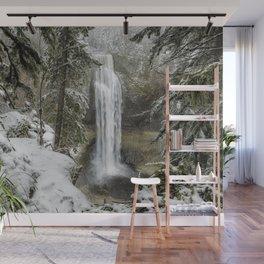 Salt Creek Falls, Another View Wall Mural
