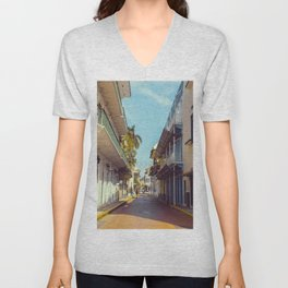 Streets of Panama City Unisex V-Neck