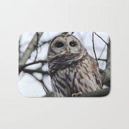 My first owl :) Bath Mat