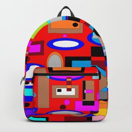 Daily Life hugged by Love at Home Backpack