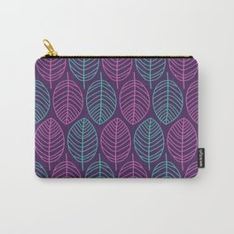 Leaf outlines Carry-All Pouch