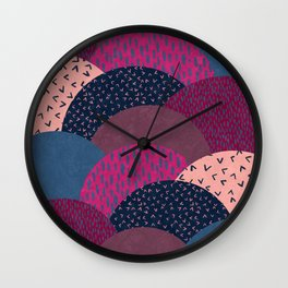 Circle Valley Wall Clock