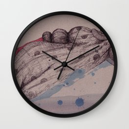 on Holidays Wall Clock