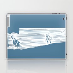 Deep Seasaw Diver Laptop & iPad Skin