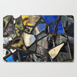 Closeup (PHOTO) of a Glass Mosaic Cutting Board