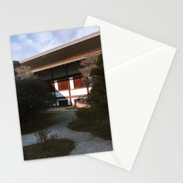 Kyoto Imperial Palace Shadows Stationery Cards