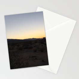 Desert Sunset Stationery Cards