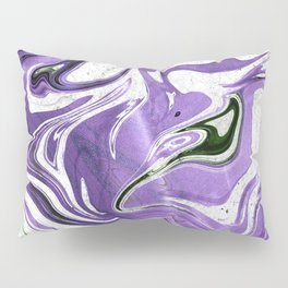 Ultraviolet Marble Pillow Sham