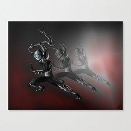 The Shinobi Assassin Canvas Print