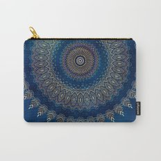 Blue detailed mandala esoteric symbol Carry-All Pouch