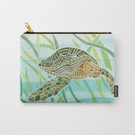 Sea Turtle at Home Carry-All Pouch