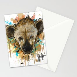 Spotted Hyena Stationery Cards