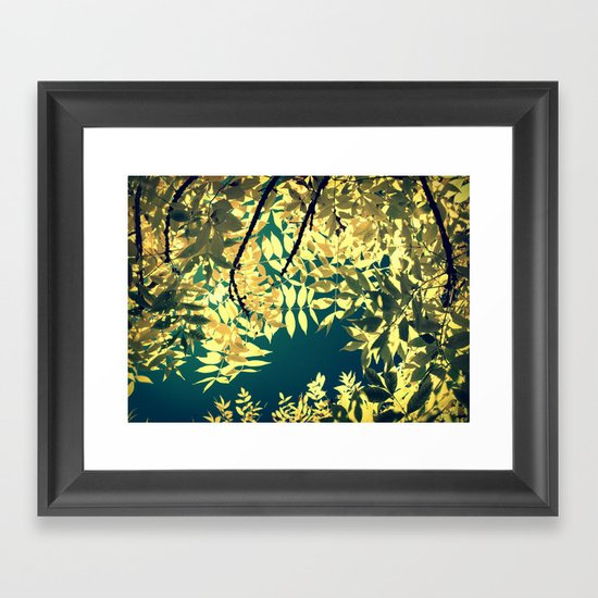 Sunday Sun Framed Art Print