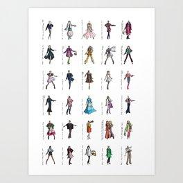 Digital Catwalk: April 2013 Art Print