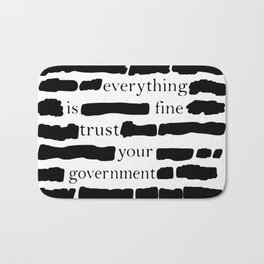 Trust Your Government Bath Mat
