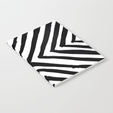 Angled Stripes Notebook