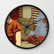 Locals Only - Portland, OR Wall Clock