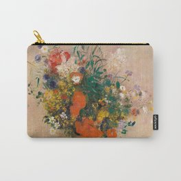 Odilon Redon - Vase of Flowers (1906) Carry-All Pouch