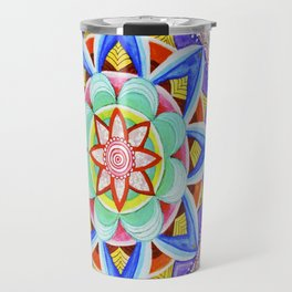 'We Are One' Mandala Travel Mug