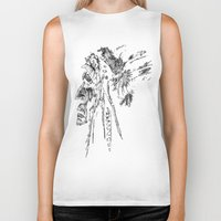 native american Biker Tanks featuring Native American by Sandy Elizabeth