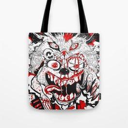 Demon Fluff Tote Bag