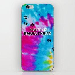 Woolfpack - Tie Dye iPhone Skin