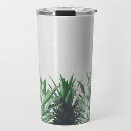Pineapple Leaves Travel Mug