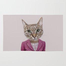 cat Mrs Rug