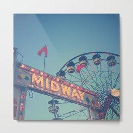 Midway Metal Print