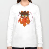 titan Long Sleeve T-shirts featuring Nightmare Titan by Savanah welsh