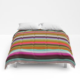 Colored Lines Comforters