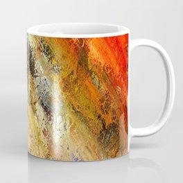 Abstract Rustic Earthtone Colors Pattern Coffee Mug