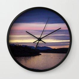 Lake Havasu Sunset Wall Clock