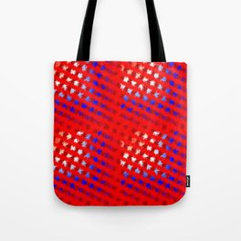 Jiggly Stripes Tote Bag