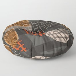 Grids 1 Floor Pillow