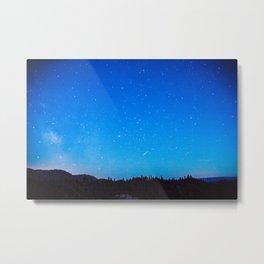 Star Skies in Washington Metal Print