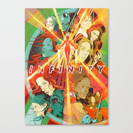 Infinity War Girls Canvas Print