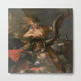 Salvator Rosa (Italian, 1615 - 1673) Allegory of Fortune Metal Print