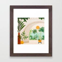 Baja Seaside Landscape Framed Art Print
