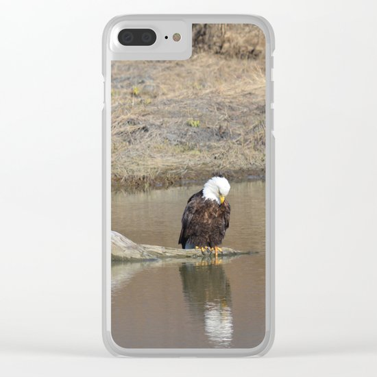 Self Reflection! Clear iPhone Case