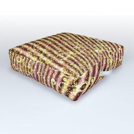 Warped glitter Outdoor Floor Cushion
