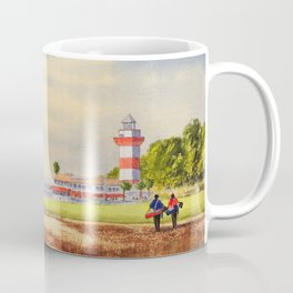 Harbor Town Golf Course 18th Hole South Carolina Coffee Mug
