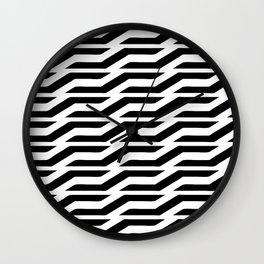 the FollOwing II Wall Clock