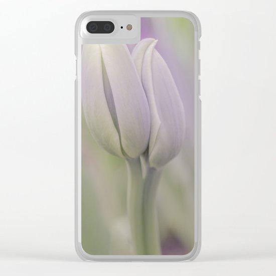 Tulip Loooove Clear iPhone Case