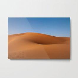 Desert Sand and Sky (Color) Metal Print