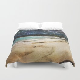 Midnight Beach Duvet Cover