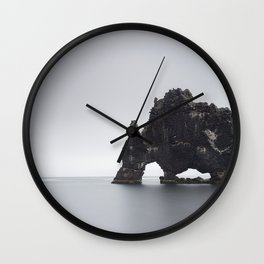 Sea stack Wall Clock