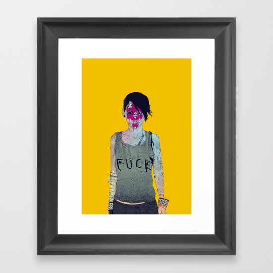 Helle Framed Art Print