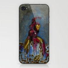 Iron Punch iPhone & iPod Skin